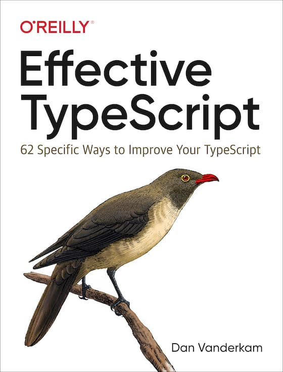 Effective TypeScript Book Cover